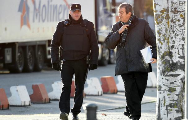 El ex vicepresidente del Gobierno, ´Francisco Álvarez Cascos, a su llegada a la Audiencia Nacional.