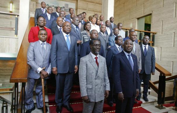 El primer ministro de Laurent Gbagbo anuncia la formación de su gabinete