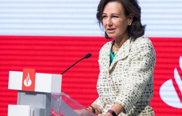 Ana Botín, presidenta Banco Santander