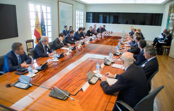 Sánchez reúne en Moncloa a empresarios VIP