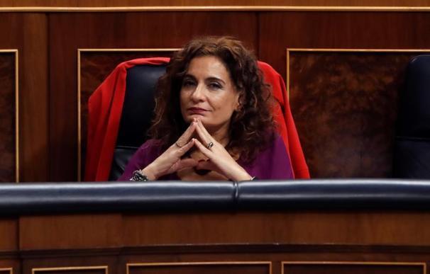 Fotografía María Jesús Montero, Congreso Diputados