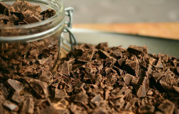 Pizcas de chocolate