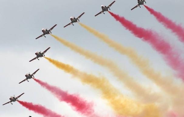 Más de 100 aeronaves participan mañana en una gran exhibición para celebrar el 75 aniversario del Ejército del Aire