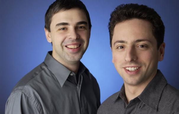 Larry Page y Sergey Brin, fundadores de Gooogle / Google