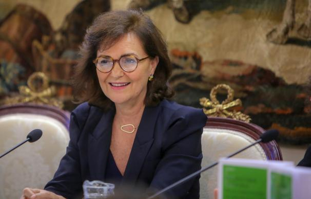 """Carmen Calvo en la presentación del libro """"Estudios sobre la reforma de la Const"""