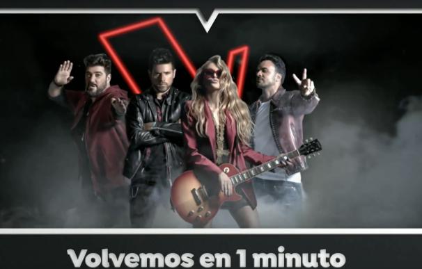 Cortinilla La Voz Antena 3