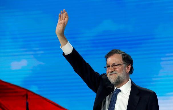 Mariano Rajoy en la convención del PP