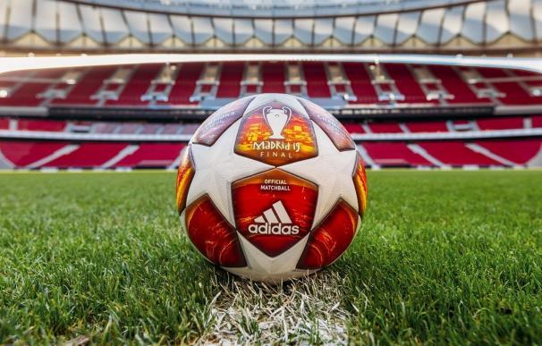 Este es el balón de la Champions que se usará en la final.