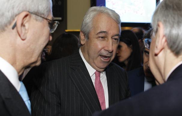El presidente de BME, Antonio Zoido