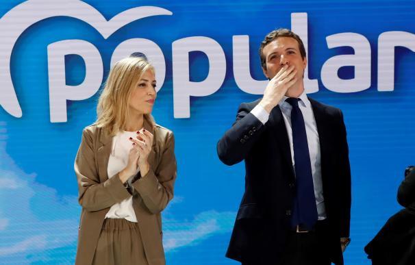 Pablo Casado y su mujer, Isabel Torres