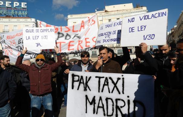 Taxi huelga