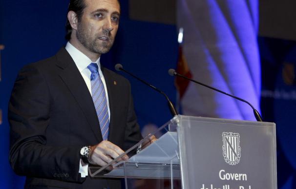 El presidente del Govern balear, José Ramón Bauzá.