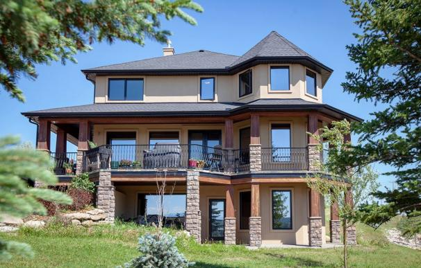 Fotografía de la casa que se puede ganar escribiendo una carta en Canadá.