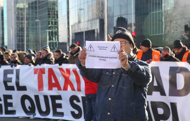 Protesta Taxi Madrid