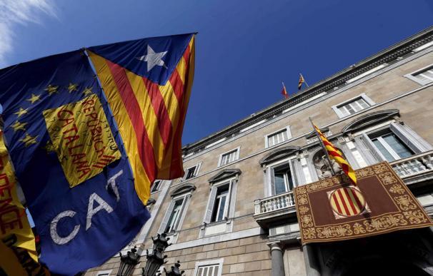 El Palau de la Generalitat, sede del Gobierno autonómico.