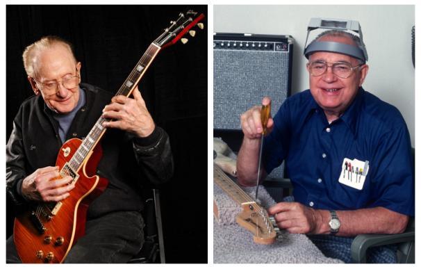 Les Paul y Leo Fender / Gibson-Fender