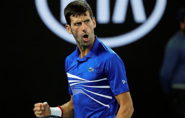 Djokovic apabulla a Pouille y se verá en la final con Nadal.