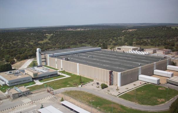 Fábrica de uranio en Juzbado (Salamanca).