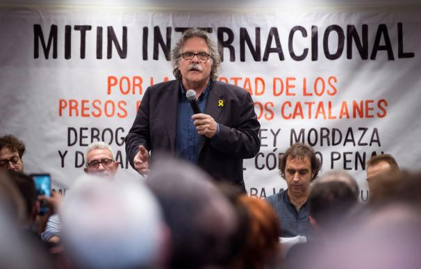 Tardá afirma que la democracia en España está en jaque.