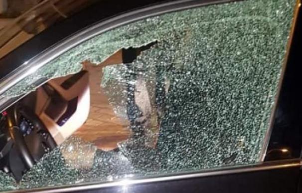 Disparo a un coche VTC