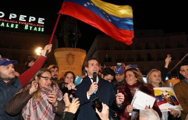 """Casado pide dar a Maduro """"donde más le duele"""" y """"cortar"""" sus cuentas en Europa."""