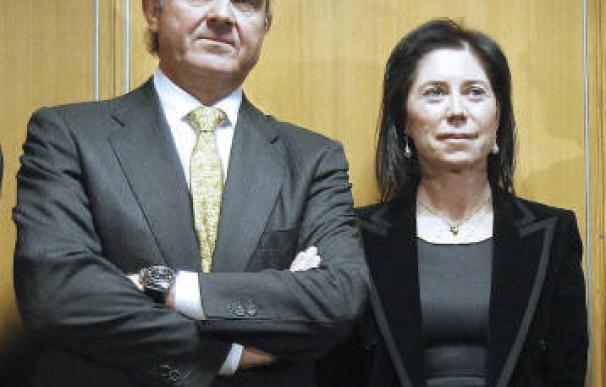 Luis de Guindos y Rosa Sánchez-Yedra