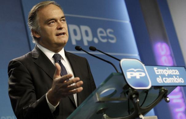 """Gonzalez Pons dice que la campaña de Rubalcaba da con demasiada frecuencia """"encefalograma plano"""""""