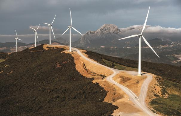 Campo eólico de Siemens Gamesa