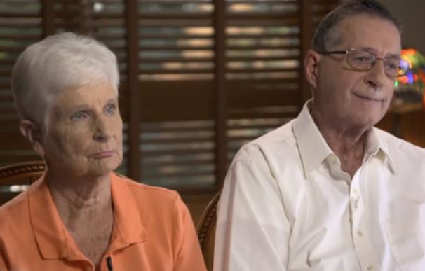 Fotografía de Jerry y Marge Selbee, los jubilados que descifraron la lotería.