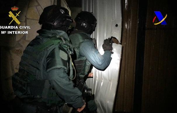 Detenidas 21 persona en el Campo de Gibraltar por robar en 'guarderías' de droga