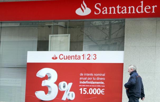 Oficina de Banco Santander. Europa Press
