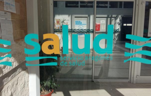 Entrada a un centro de salud en Aragón