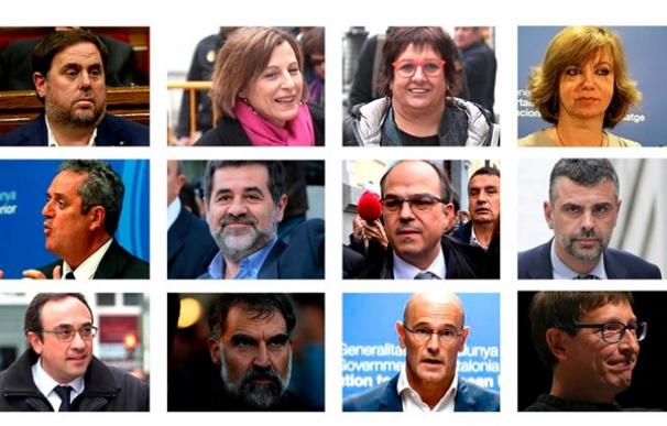 Los soberanistas presos han sido trasladados a centros penitenciarios de Madrid