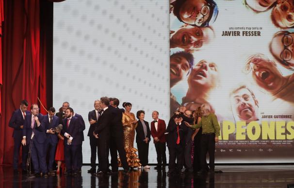 'Campeones' fue elegida como la mejor película española del año.