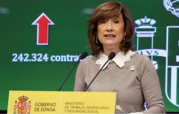 La secretaria de Estado de Empleo, Yolanda Valdeolivas. EFE