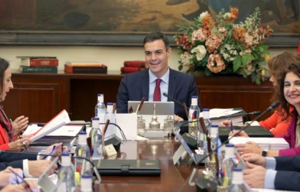 Imagen reunión del Consejo de Ministros / EP