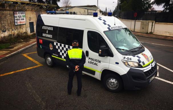 Furgón de la Policía Local de Granada