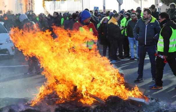 Taxi Ifema, huelga taxistas, Madrid