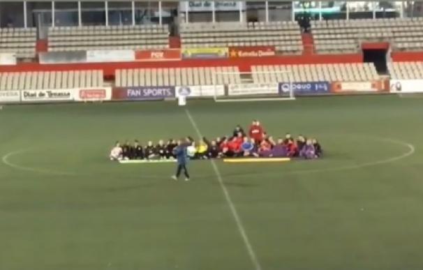 El Terrassa FC veta a sus veteranos por insultos sexistas al equipo femenino