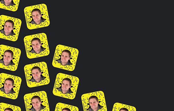 El CEO de Snapchat, Evan Spiegel.