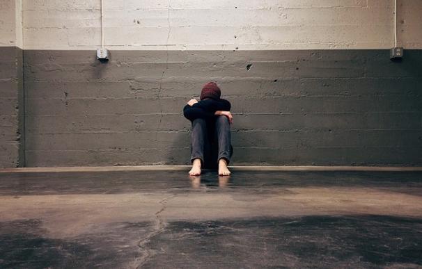 Fotografía de un niño que sufre 'bullying'.
