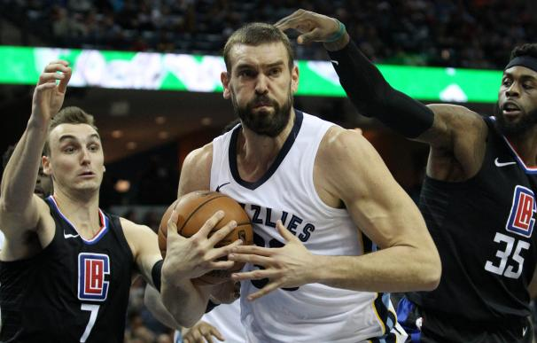 Marc Gasol sigue los pasos de su hermano