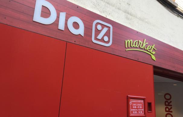 Fuertes caídas en bolsa de las acciones de Dia