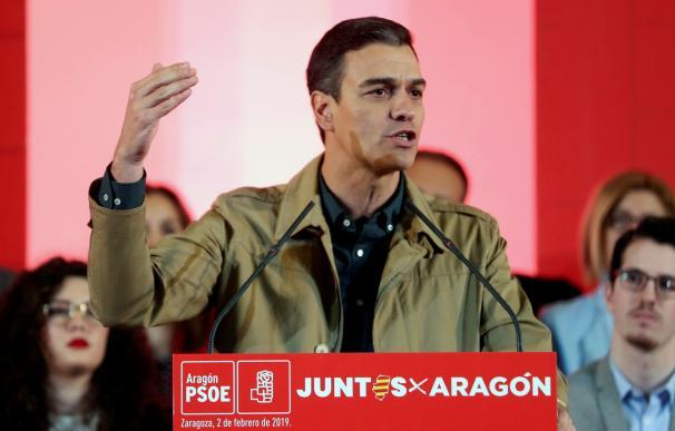 Sánchez en Aragón