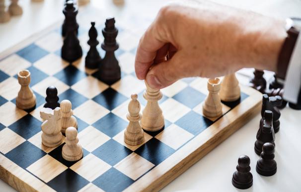 La intuición no sirve en el ajedrez, pero sí en los negocios. / Pexels