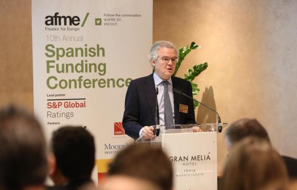 Sebastián Albella, presidente de la Comisión Nacional del Mercado de Valores (CNMV). AFME