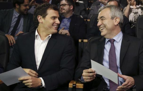 Luis Garicano y Albert Rivera