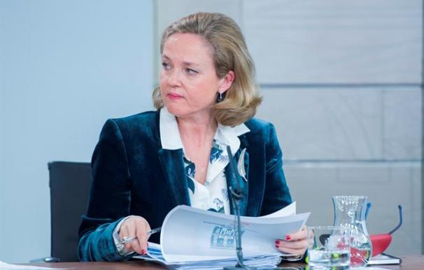 Nadia Calviño, en el Consejo de Ministros / Pool Moncloa