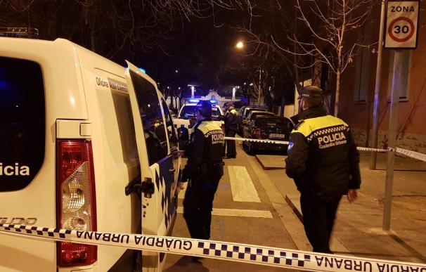 Imagen del control nocturno de la Policía Local de Figueres en el que sucedieron los hechos
