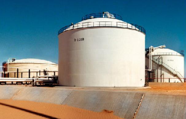 Imagen de instalación de Repsol en Libia